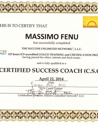 Diploma Coach SUN