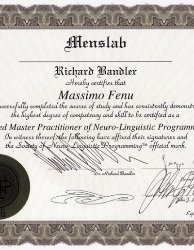 Master Practitioner PNL
