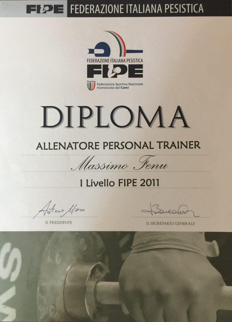 diploma di personal trainer