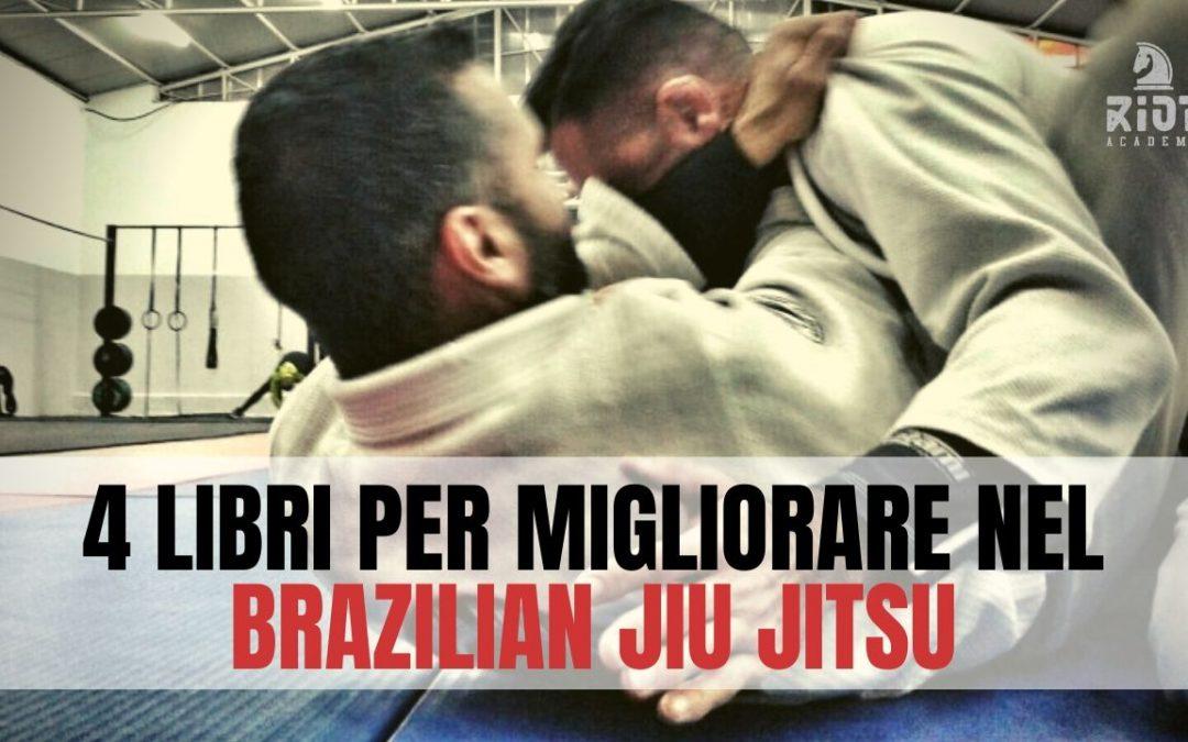 4 Libri per migliorare nel Brazilian jiu jitsu.