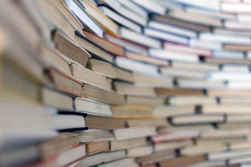 Un bel muro di libri