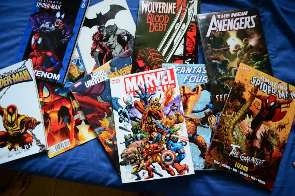 supereroi in fumetto